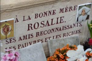 Grave of Bl Rosalie