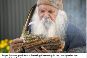 smoking ceremony Hutt St opening
