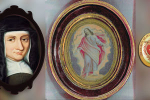 st-louise-with-painting-jesus-lord-of-charity-and-dc-seal